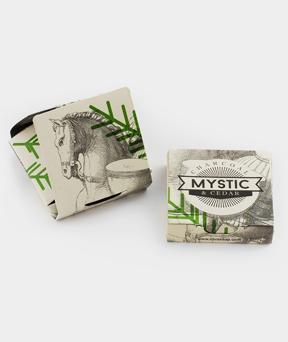 Nivo Soap Mystic Charcoal & Cedar