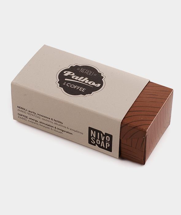 Nivosoap Pathos Neroli & Coffee Soap Bar