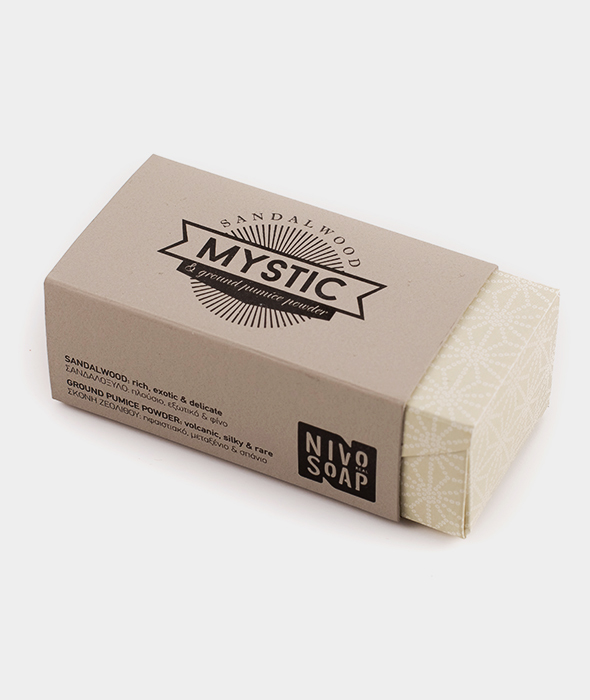 Nivosoap Mystic Sandalwood & Zeolite Clay Soap Bar