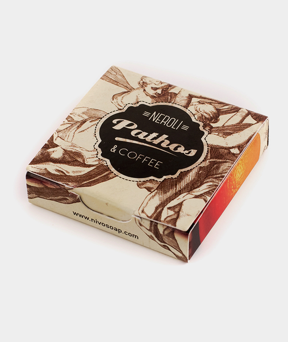 Pathos Neroli & Coffee Mini Soap