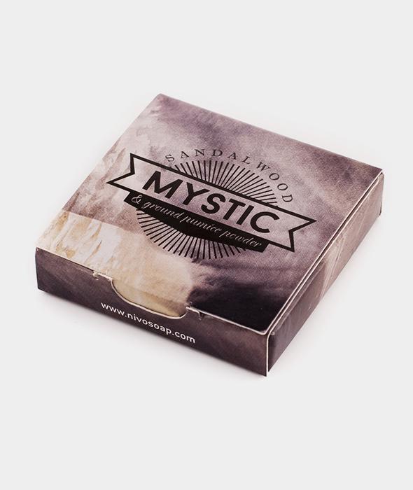 Nivosoap Mystic Sandalwood & Zeolite Clay Mini Soap