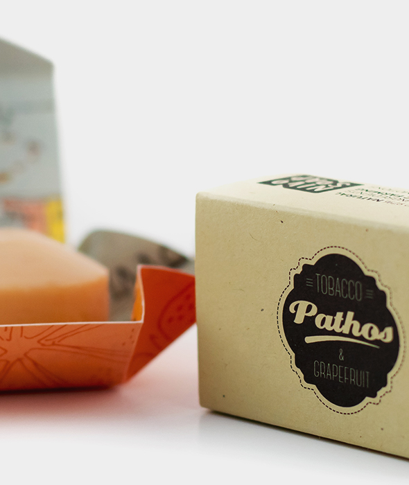 Nivo Soap Pathos Tobacco & Grapefruit