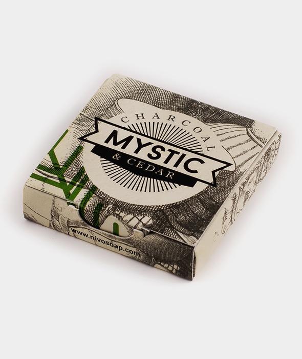 Mystic Άνθρακας & Κέδρος Mini Soap
