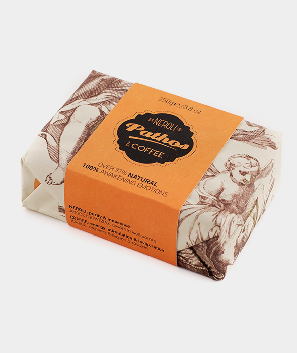 Nivosoap Pathos Neroli & Coffee XL Soap