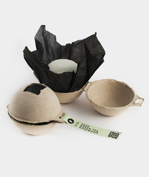 Nivo Soap Bath Bomb Sage Green Tea Rosewood 2