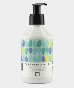 Nivo Soap Cleansing Milk Sensitive Dry Skin Donkey Milk & Oryza