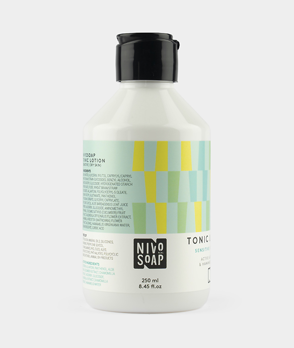 Nivo Soap Tonic Lotion Sensitive Dry Skin Aloe Vera & Hamamelis Water 2